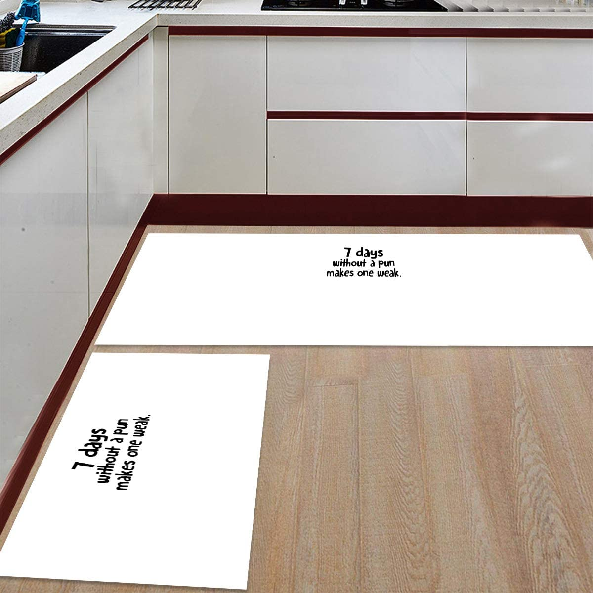 Modern Low-Profile Kitchen Mat Outlet ☆ Free Shipping 2 Sets Cushioned Soft safety Floor PCS