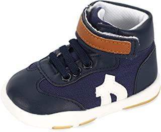 LACOFIA Baby Boys Girls Sneakers First Walking Shoes Breathable Toddler Sneakers Non-Slip Tennis Shoes