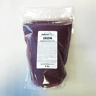 Chelated Iron EDDHA 6% - Iron Chelate FeEDDHA 1 pound - aquaponics garden