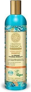 Natura Siberica, Oblepikha szampon do włosów normalnych i olejnych, granatowy, drewno sandałowe, 400 ml