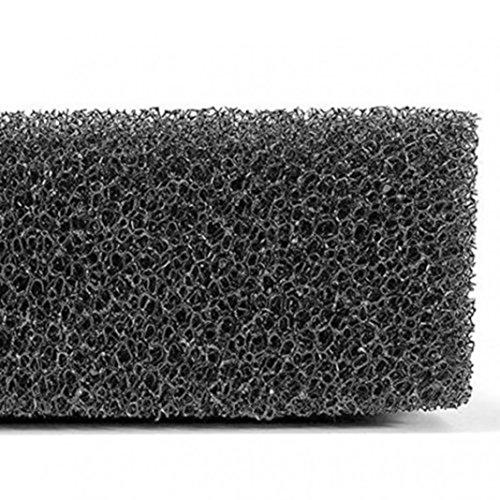 Greenlans Éponge de filtration en mousse noire pour bassin, aquarium, éponge de filtration biochimique