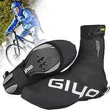 Cubrezapatillas Ciclismo, Reutilizables Impermeables Cubrezapatillas de Bicicleta con Diseño Reflectante para Hombres y Mujeres, Bicicleta de Carretera MTB Montaña Accesorios Ciclismo