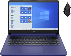 2021 Newest HP 14-inch HD Non-Touch Laptop, Intel 2-Core N4020 up to 2.8 GHz, 4 GB RAM, 64 GB eMMC, WiFi, Webcam, Bluetooth, Win 10 S with Office 365 Personal for 1 Year, Blue + Oydisen Cloth