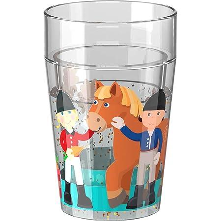 HABA Glittery Tumbler Little Friends Pony Farm for Kids | Cutlery Item