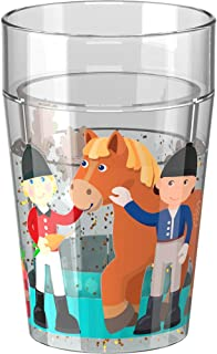 HABA Glittery Tumbler Little Friends Pony Farm for Kids | Cutlery Item