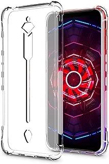 【seninhi】ZTE nubia Red Magic 3 ケース クリア ソフト カバー 透明 TPU 充電対応 超薄 防指紋 四角保護 落下 衝撃吸収 擦り傷防止 携帯カバー 黄変防止 ワイヤレス充電対応