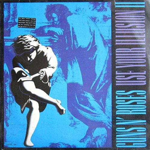 USE YOUR ILLUSION 2 LP (VINYL ALBUM) GERMAN GEFFEN 1991