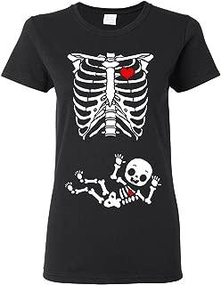 Best skeleton pregnancy t-shirt Reviews