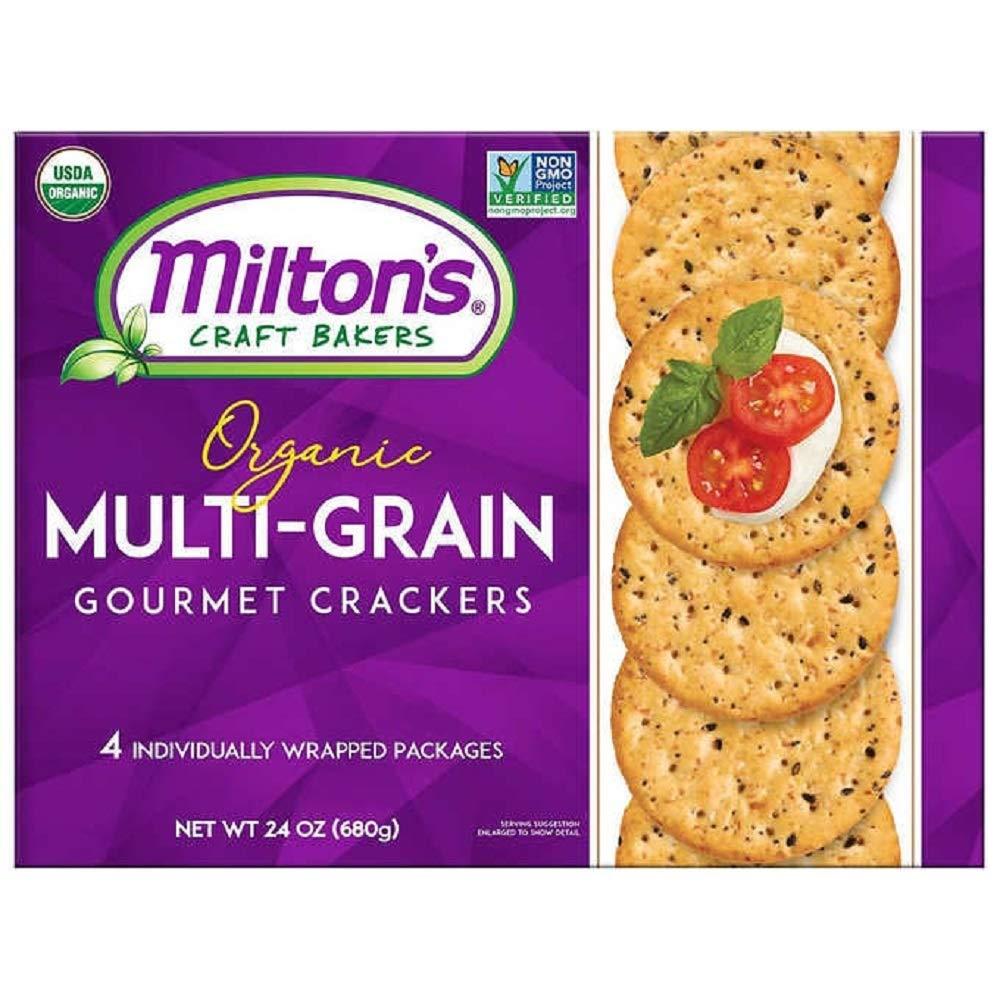 Milton's Craft Bakers Original Multi-Grain Baked Cracker Financial sales sale Department store Gourmet