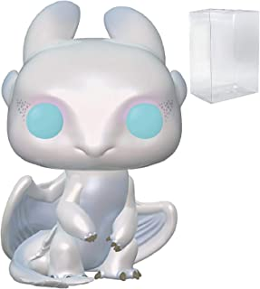 Funko How to Train Your Dragon 3: The Hidden World - Light Fury Pop! Vinyl Figure (Includes Compatible Pop Box Protector Case)