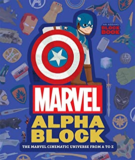 Marvel Alphablock (An Abrams Block Book): The Marvel Cinematic Universe from A to Z