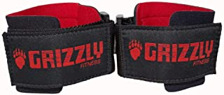 Grizzly Fitness PowerWeight TrainingWrist Wraps for Men and Women   Sold in Pairs  One-Size  Used by Pros to provide Wrist support during Lifting and Pulling   Pro grade durable stitched Cottonand Nylon blend with comfortable Neoprene padding   Fully adjustable Velco Hook and Loop closure