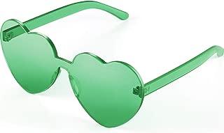 heart shaped sunglasses plastic