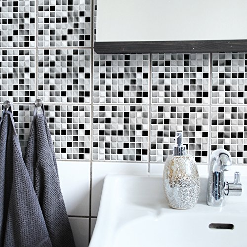 Boubouki - Wasserabweisende Fliesenaufkleber für Bad und Küche - Cherifa 22