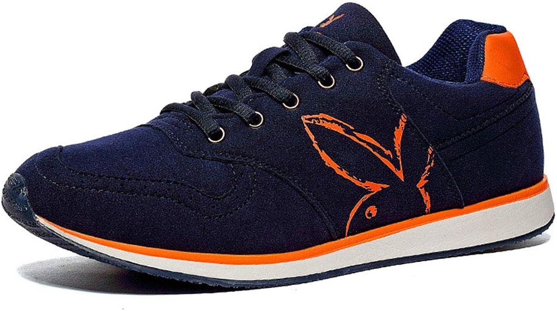 Män's Casual skor, Mode Wear Wear Wear Resistent Motion Casual springaning skor Fall  Winter ny Lace -Up skor, A,40  handla på nätet