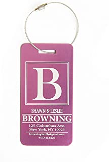 Best engraved luggage tags canada Reviews
