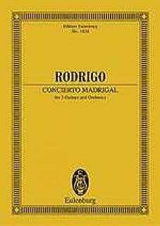 Concierto Madrigal - 2 Guitars and Orchestra - study score - (ETP 1824)