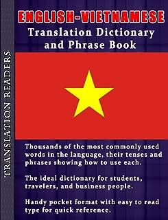 English - Vietnamese Translation Dictionary and Phrasebook