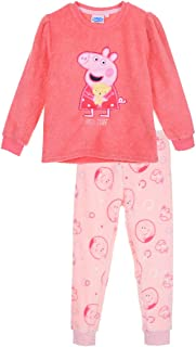 Pijama Largo coralina de Peppa Pig 3 años 100% Poliester