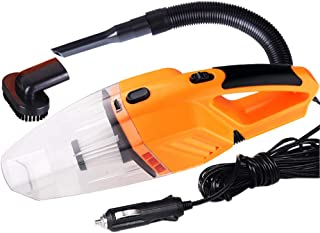 Roloiki Portable 120W Car Vacuum Cleaner Household Handheld Perfect Accessories Kit for Detailing and Cleaning Car Interior
