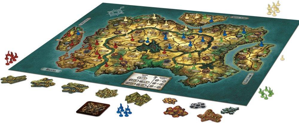 Edge Entertainment- Gearworld: The Borderlands - Español, Color (EDGVA61): Fantasy Flight Games: Amazon.es: Juguetes y juegos