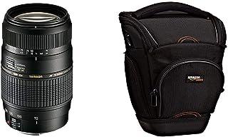 Tamron A17E - Objetivo para Canon (70-300 mm f/4-5.6 Macro AF 62 mm) Color Negro + AmazonBasics - Funda para cámara de Fotos réflex Color Negro