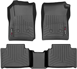 WeatherTech Custom Fit FloorLiner for Colorado/Canyon Crewy Cab - 1st & 2nd Row (Black)