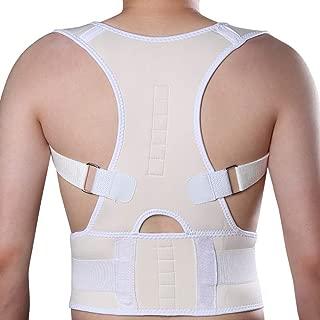 KIWI RATA Magnetic Posture Corrector Back Braces Shoulder Waist Lumbar Support Belt Humpback Prevent Body Straighten Slouch Compression Pain Relief