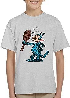 Comics Kingdom Krazy Kat Mirror Blue Kid's T-Shirt