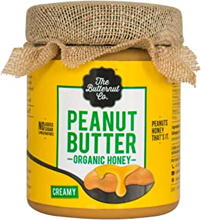 The Butternut Co. Peanut Butter Organic Honey, 200 gm (No Refined Sugar, Dairy Free, 100% Natural)