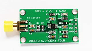 Taidacent AD8313 0.1 GHz to 2.5 GHz 70 dB Logarithmic Detector/Controller RF Log Detector Power Amplifier