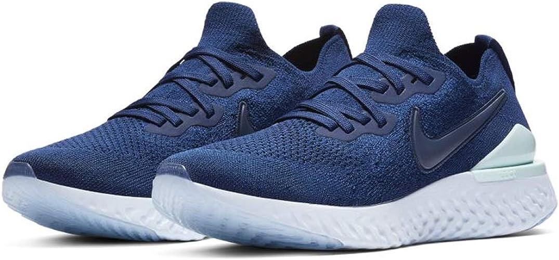 Nike Epic React Flyknit 2 Women's Running Shoe Blue Void/Indigo Force-Teal Tint