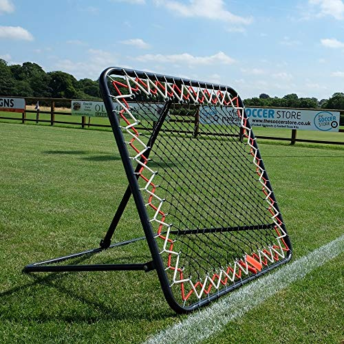 The Soccer Store Adjustable Football Rebounder Net. High...