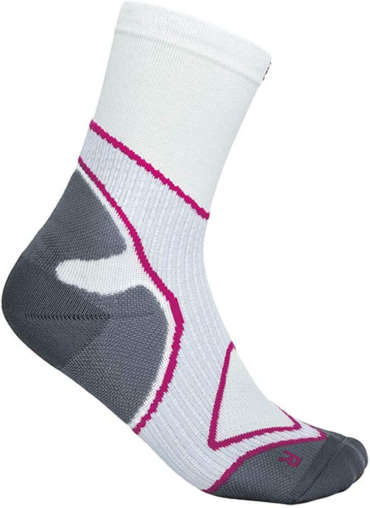 Functional Socks Running 1 Pair of Sports Infinity Zone Technology Bauerfeind Mens Performance Mid Cut Fitness