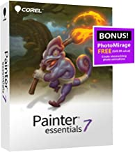 $43 » Corel | Painter Essentials 7 | Digital Art Suite | Amazon Exclusive includes FREE PhotoMirage Express valued at $49 [PC Disc]