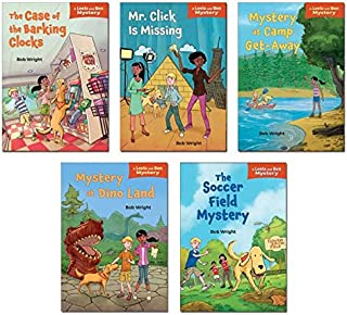 Leela and Ben Mysteries: The Case of the Barking Clocks, Mystery at Dino Land, Mr Click Is Missing, the Soccer Field Mystery, Mystery at Camp Get-away