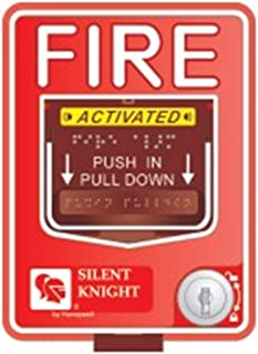 SILENT KNIGHT PS-DA Dual action pull station, key reset