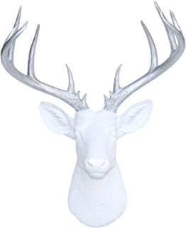 Best silver deer head wall mount Reviews