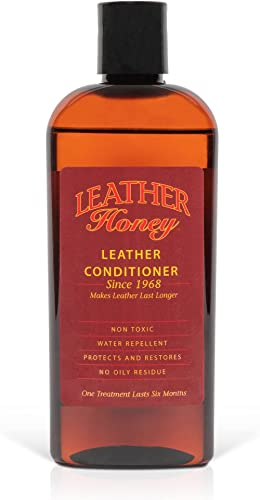 Leather Honey Leather Conditioner, the Best Leather Conditioner Since 1968, 8 Oz Bottle. For Use on Leather Apparel, ...