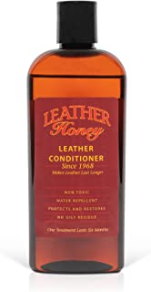 Leather Honey Leather Conditioner, the Best Leather Conditioner Since 1968, 8 Oz Bottle. For Use on Leather Apparel, Furni...
