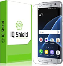 IQ Shield Screen Protector Compatible with Samsung Galaxy S7 Edge (Full Coverage) Anti-Bubble Clear Film