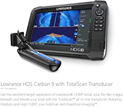 HDS-9 Carbon - 9-inch Fish Finder with TotalScan Transducer and C-MAP US Enahanced Basemap Installed