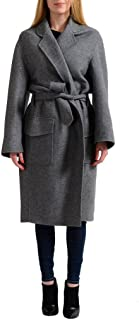 Tom Ford Cashmere Wool Gray Belted Women's Basic Coat