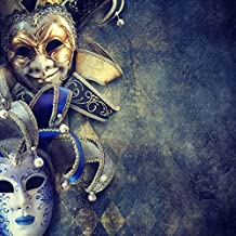 Yeele 8x8ft Mask Masquerade Backdrop Disguise Carnival Pictures Photography Background Room Interior Decoration Girl Boy Adults Portraits Photo Shoot Vinyl Wallpaper Photocall Studio Props