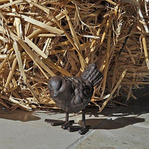 Oiseau en fonte