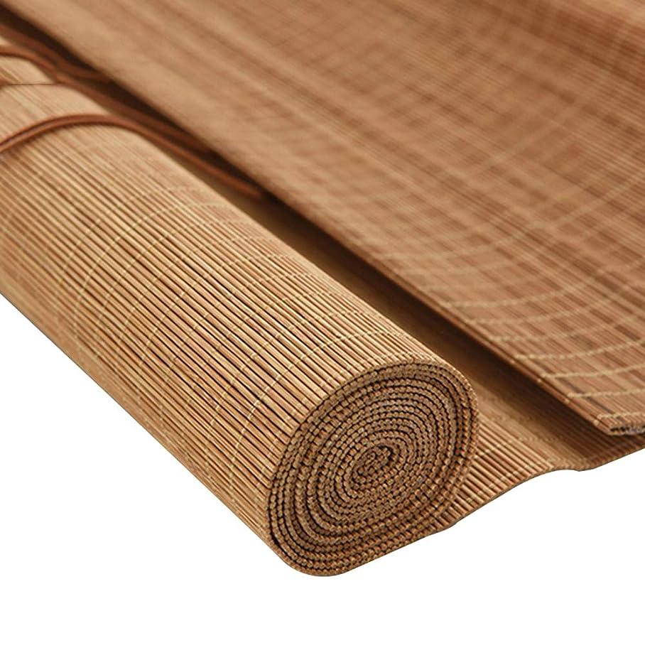 延ばす料理をする見えない竹のカーテン日本の日よけの仕切りのローラーブラインド、持ち上がるシャッター、自然な通気性の装飾的なローマのブラインド、サイズはカスタマイズすることができます