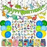 Moon Boat 127PCS Dinosaur Birthday Party Supplies Set for Boys Kids -...