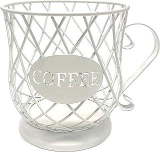 Baoblaze Support de Dosette de Café et Tasse D'organisateur, Support de Dosette de Café et D'espresso, Panier de Rangement...