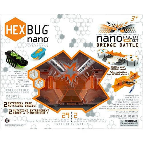 Hexbug 501087 -  Bridge Battle Habitat Set, Elektronisches Spielzeug