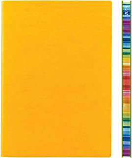 2019 Daycraft Signature Chromatic A5 Diary Fine Italian PU Soft Cover, 192 Page - W151mm x H212mm, Yellow